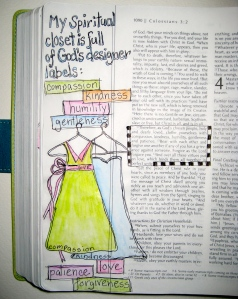 Bible Journaling: God's Designer Label