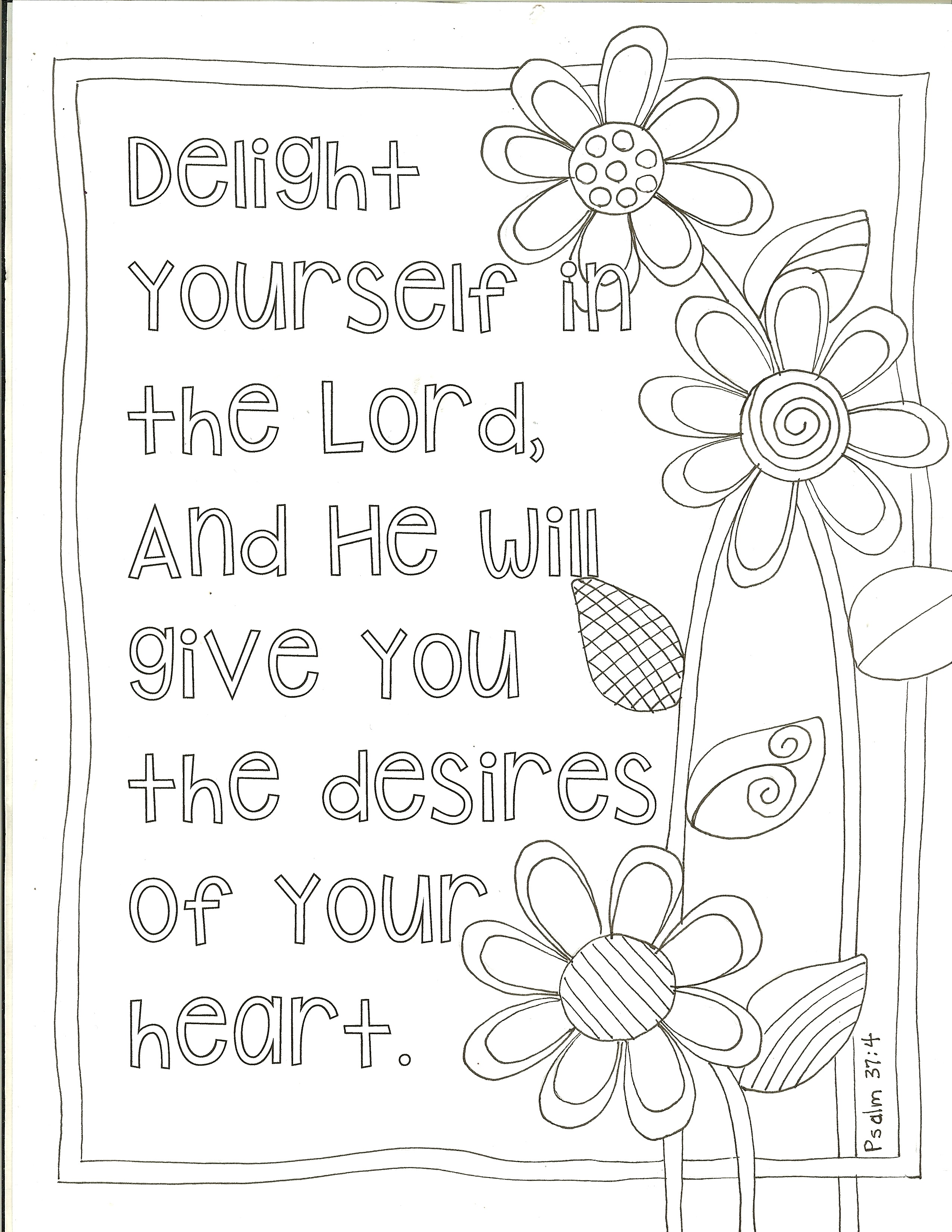 coloring page art from the word