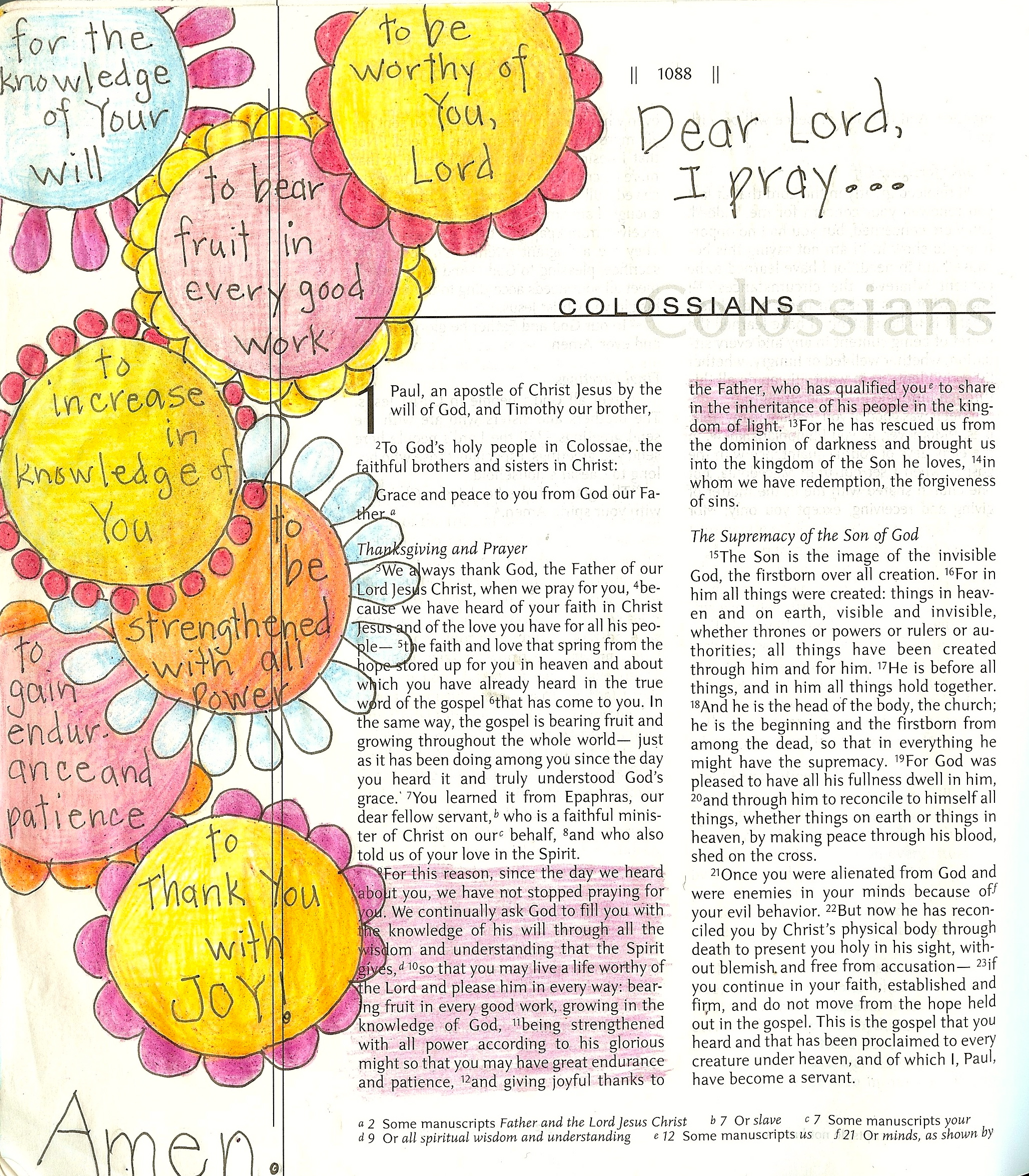 Coloring page | Art from the Word